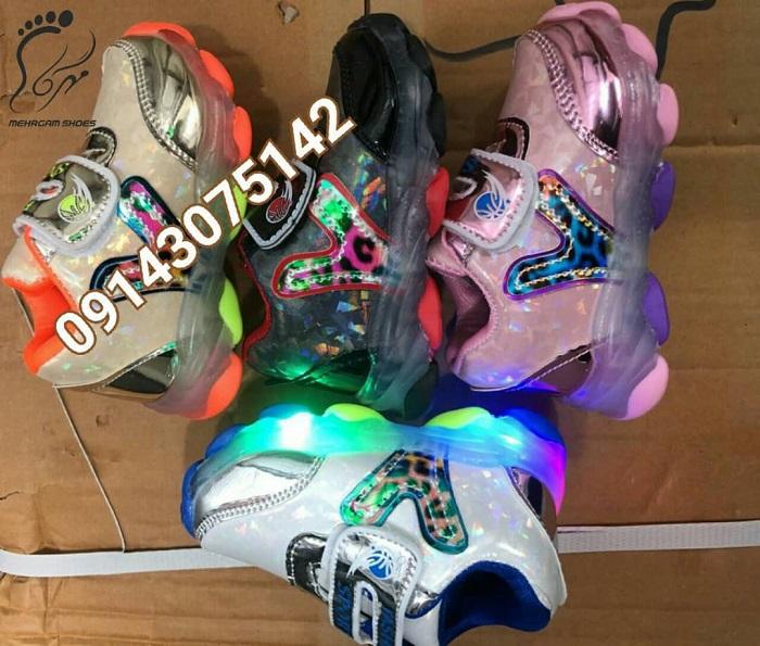 خرید کفش بچه گانه چراغدار خارجی