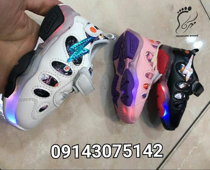 انواع مدل کفش چراغدار بچه گانه دخترانه و پسرانه