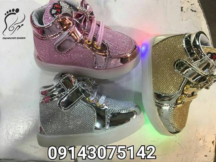 قیمت کفش بچه گانه چراغدار