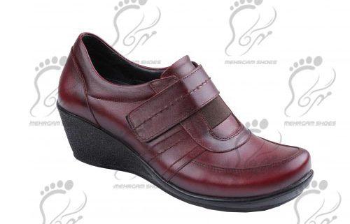 کفش چرم طبیعی زنانه