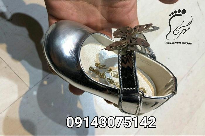 خرید اینترنتی کفش بچه گانه ورنی