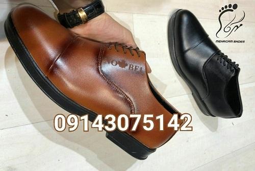 خرید عمده کفش چرم مردانه ارزان
