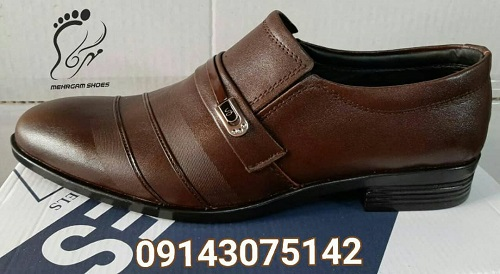 خرید اینترنتی کفش چرم مردانه