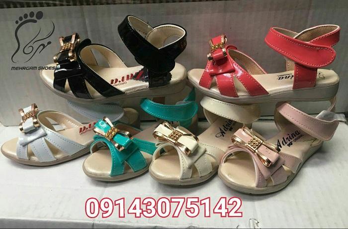 خرید کفش بچه گانه تابستانی ارزان از تولیدی