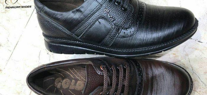 کارخانه تولید کفش مردانه چرم اصل