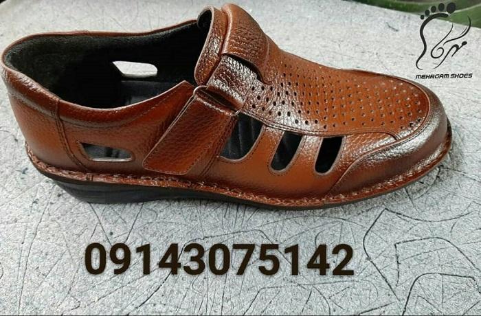 تولیدی کفش چرم طبیعی