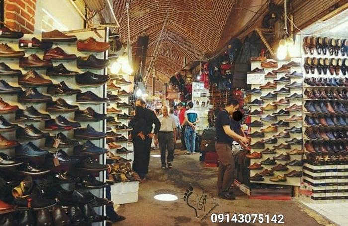 بازار کفش چرم تبریز